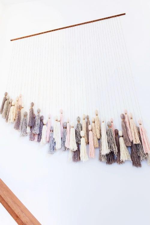 DIY Tassel Wall Hanging