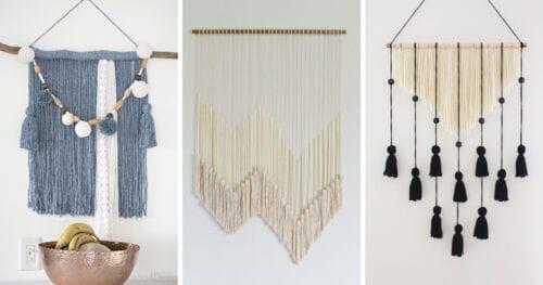 wall hanging tutorials 5