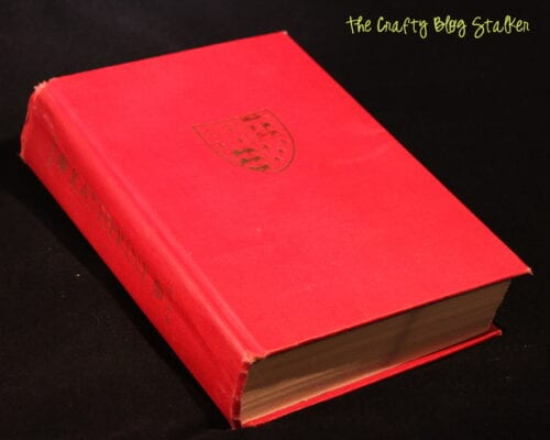 an old red book entitled Katherine