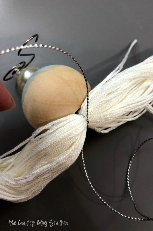 How to Make a Beaded Tassel Ornament | Easy DIY Craft Tutorial Idea | Christmas Ornament | Handmade | Holidays | Unique