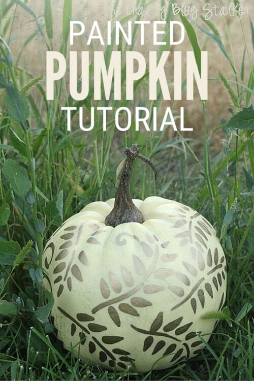 title image for How to Make a Painted Pumpkin