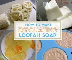 How to Make Exfoliating Loofah Soap | Easy DIY Craft Tutorial Idea | Gift Ideas | Handmade Gifts | Soap Making | Melt and Pour | Essential Oils | Glitter |
