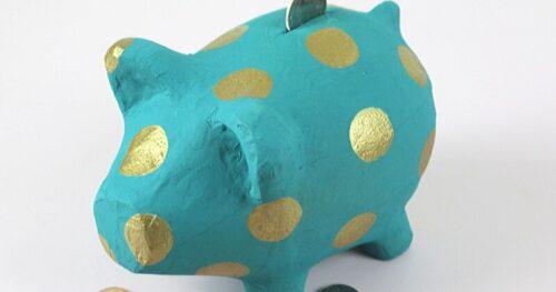 painted piggy bank 13