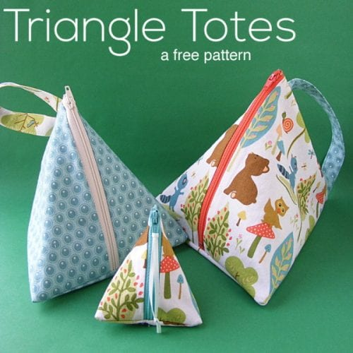 Purses, Bags and Totes You Can Sew! 15 free purse patterns featured by top US craft blog, The Crafty Blog Stalker.