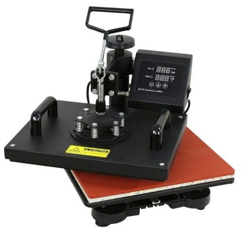Compare Cricut EasyPress 2 VS a Heat Press   Comparison   Swivel Arm   Heat Transfer Vinyl   Iron-on   best value   crafts   craft   handmade   #ad   #Cricut