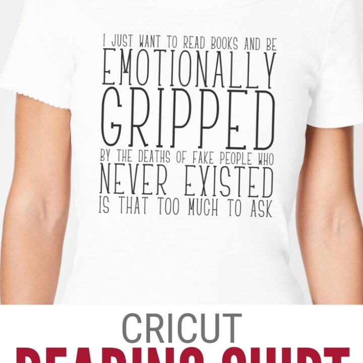 cricut shirt for readers 17