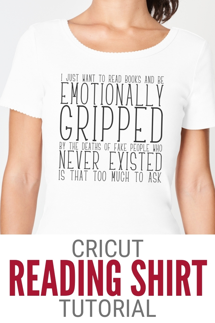 cricut shirt for readers 17