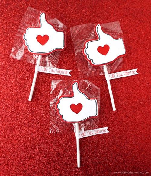 Ich mag dich Valentinstag