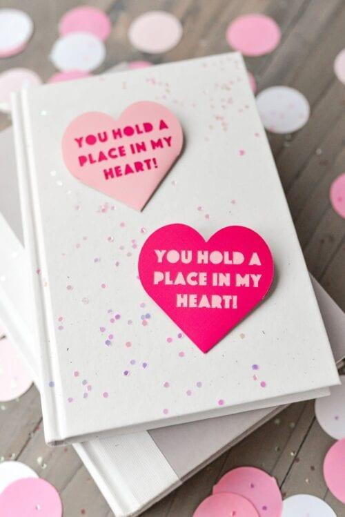 Valentinstag Lesezeichen
