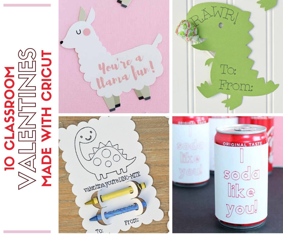 Classroom Decor Vinyl ~ Classroom valentines you can make with cricut