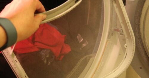 clean dryer lint trap 13