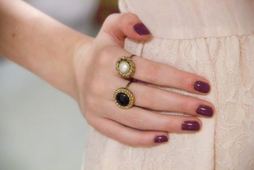 20 Handmade Ring Tutorials: DIY Jewelry Ideas featured by top US craft blog, The Crafty Blog Stalker: Button Rings