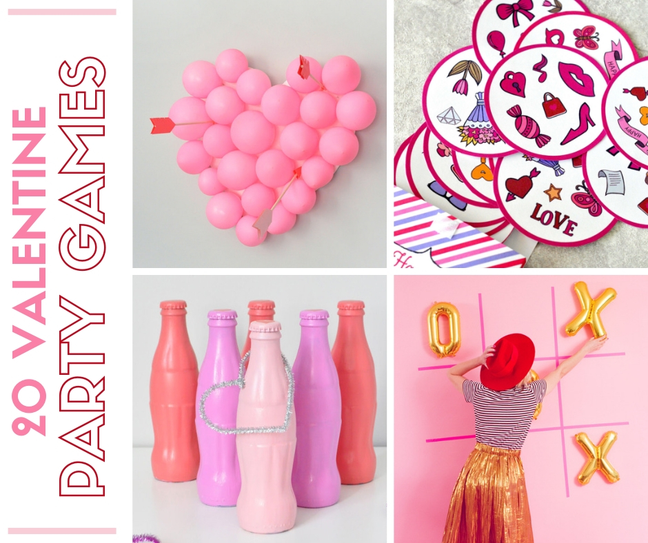 20 Valentine Party Games For Kids And Adults