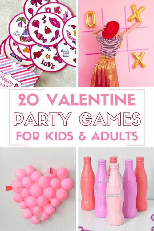 20 Valentine Party Games for kids and adults | DIY Game | Valentine's Day | Classroom | Easy DIY Craft Tutorial Idea | Celebrate | Hearts | Heart