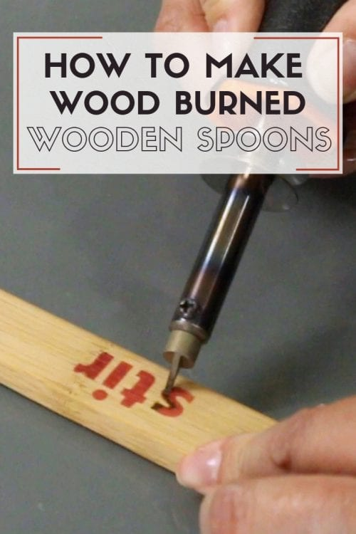 How to Make Wood Burned Wooden Spoons | Kitchen Utensils | Wood Burning | Cricut Explore Air 2 | Cricut Maker | Stencil | Vinyl | Cutting Machine | Handmade Gift | Easy DIY Craft Tutorial Idea