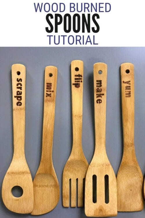 title image for How to Make Wood Burned Spoons