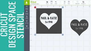 title image for the video how to make a stencil in cricut design space