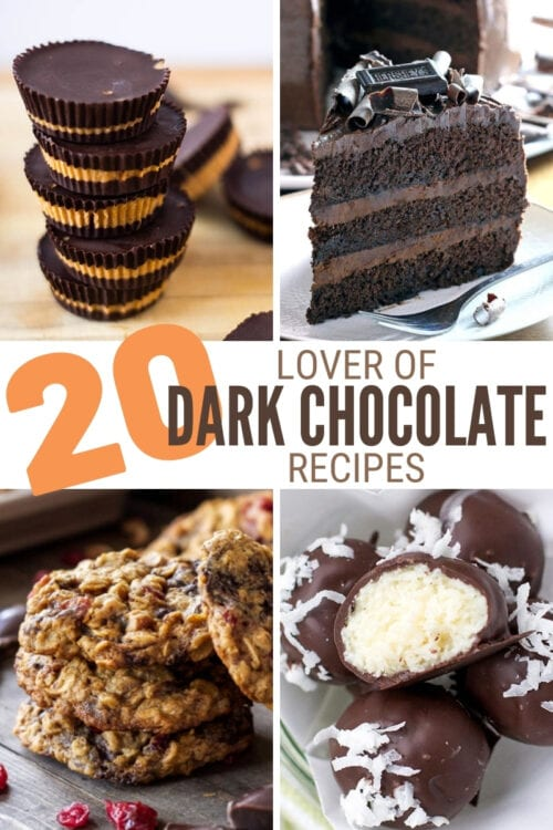 title image for 20 Dark Chocolate Lover Recipes
