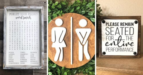 hilarious bathroom signs 4 1