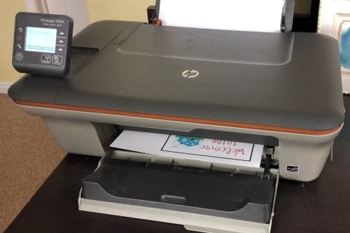 HP Deskjet #3050A home printer