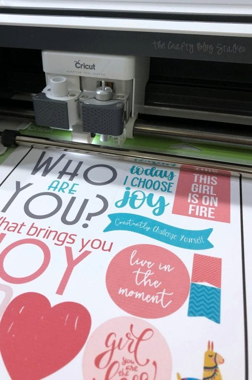 Cricut Maker finding the registration marks for print then cut