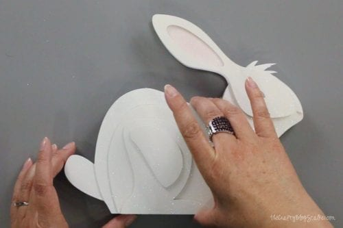 How to Make a 3D Paper Art Bunny with Cricut
