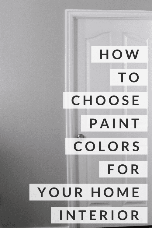 title image how to choose paint colors for your home interior with repose gray sherwin williams