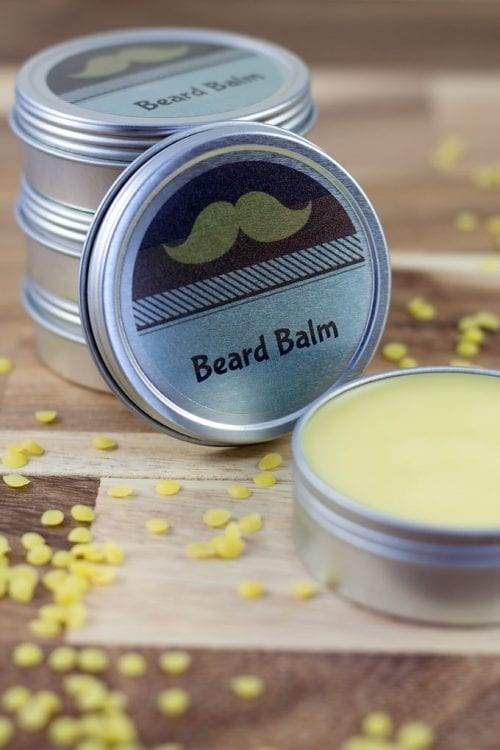 9 DIY Gifts for Dad perfect for Father's Day, featured by top US craft blog, The Crafty Blog Stalker: cedarwood beard balm