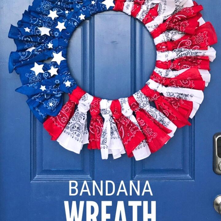 bandana wreath 21