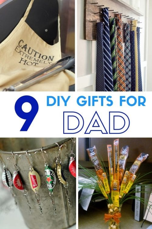 9 DIY Gifts for Dad perfect for Father's Day, featured by top US craft blog, The Crafty Blog Stalker