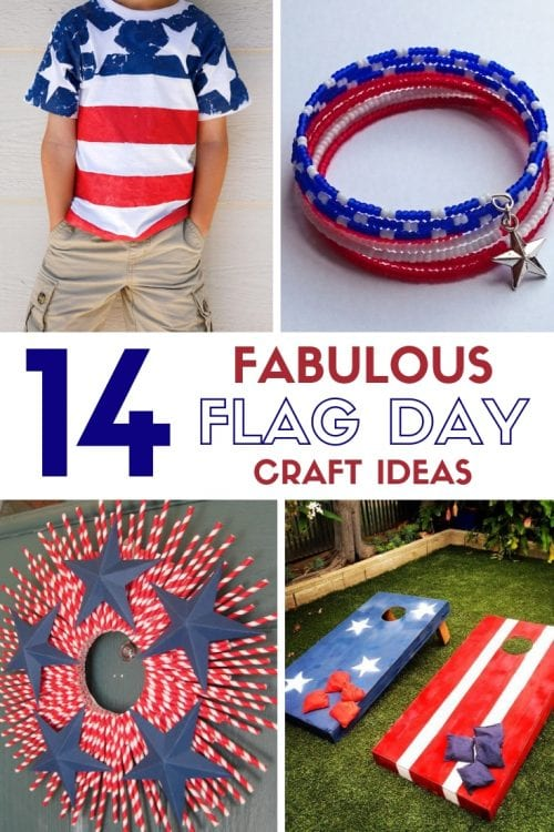 14 Fabulous US Flag Day Crafts featured by top US craft blog, The Crafty Blog Stalker