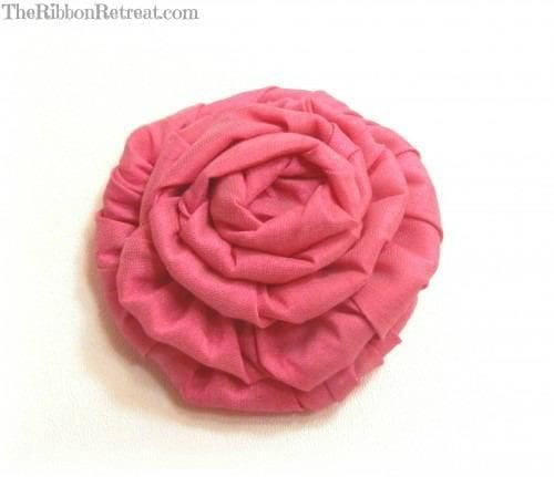 wired ribbon rose