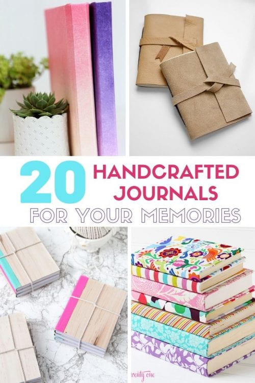 Handcrafted Journals featured by top US craft blog, The Crafty Blog Stalker