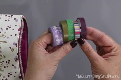 6 Essentials to Include in a DIY Travelers Journal Kit featured by top US craft blog, The Crafty Blog Stalker: washi tape