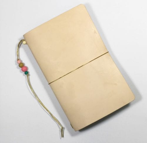 Handcrafted Journals featured by top US craft blog, The Crafty Blog Stalker: DIY travelers notebook