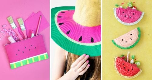 Top 20 Fun Watermelon Craft Ideas Perfect for Summer featured by top US craft blog, The Crafty Blog Stalker