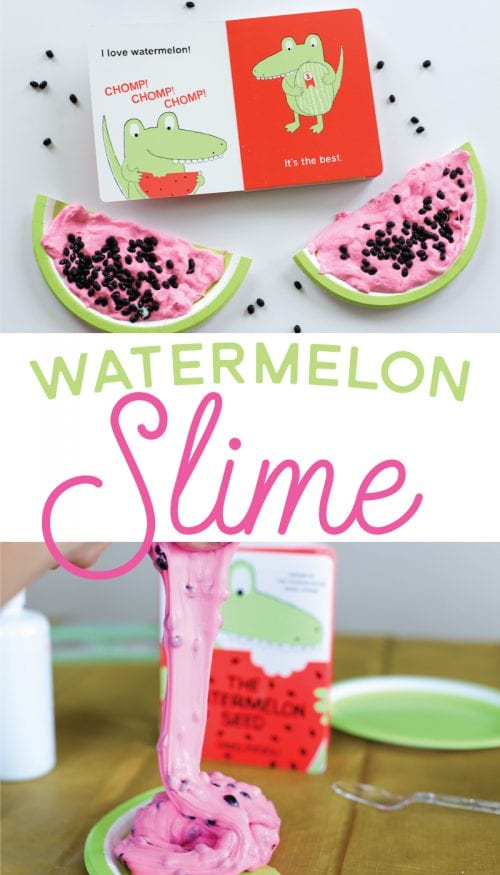 Top 20 Fun Watermelon Craft Ideas Perfect for Summer featured by top US craft blog, The Crafty Blog Stalker: slime