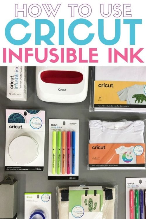How to Use Cricut Infusible Ink featured by top US craft blog, The Crafty Blog Stalker