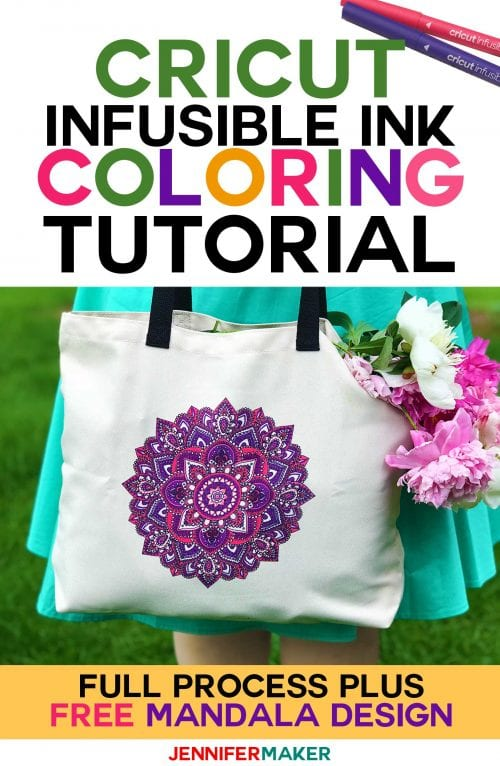 Infusible Ink Projects featured by top US craft blog, The Crafty Blog Stalker: image of infusible ink tote
