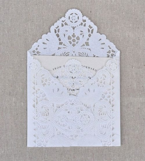 image of Doily Envelope