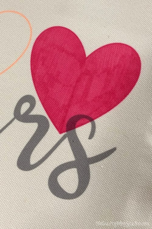 Personalized tote bags using Cricut Infusible Ink, a tutorial featured by top US craft blog, The Crafty Blog Stalker