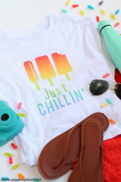 Infusible Ink Projects featured by top US craft blog, The Crafty Blog Stalker: image of infusible ink tshirt