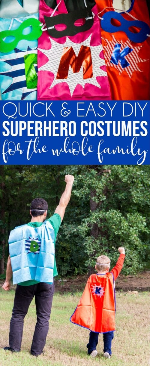 20 Amazing Cricut Halloween Costume Ideas featured by top US craft blog, The Crafty Blog Stalker: superhero costume