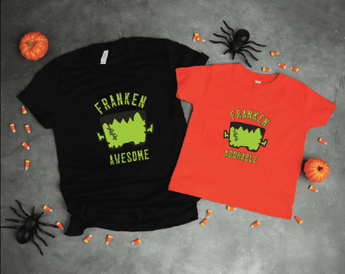 20 fun DIY Halloween Shirts with Vinyl featured by top US craft blog, The Crafty Blog Stalker.