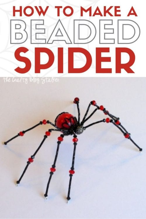 photo regarding Legend of the Christmas Spider Printable known as How in the direction of Crank out a Beaded Spider The Cunning Weblog Stalker