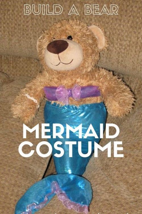 Build a Bear Mermaid Costume