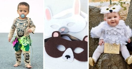 20 Amazing Cricut Halloween Costume Ideas featured by top US craft blog, The Crafty Blog Stalker.