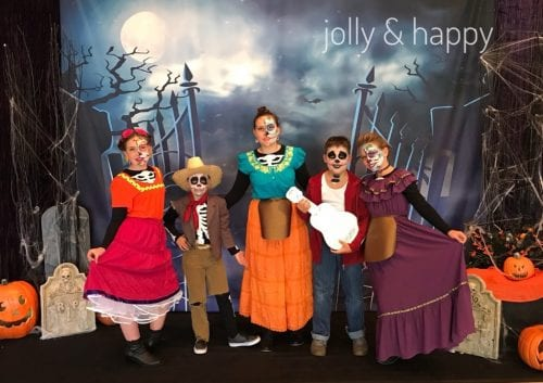 20 Amazing Cricut Halloween Costume Ideas featured by top US craft blog, The Crafty Blog Stalker: Coco costumes