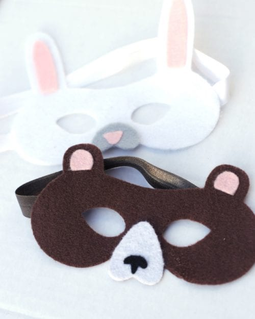 20 Amazing Cricut Halloween Costume Ideas featured by top US craft blog, The Crafty Blog Stalker: animal masks