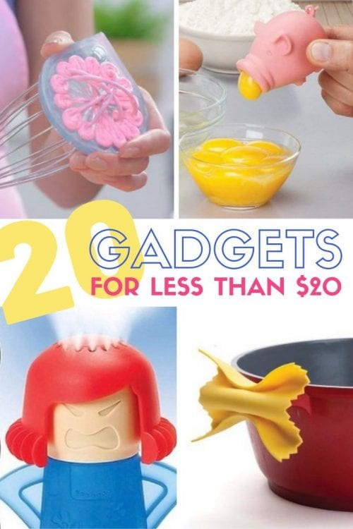 20 Life-Changing Gadgets for less than $20 featured by top US craft blog, The Crafty Blog Stalker
